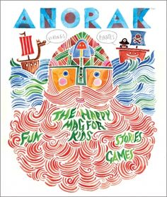 Anorak Magazine - beautiful activities, stories and graphics for children
