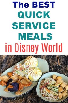 Walt Disney World vacation planning tips -- The best quick service restaurants and menu item in the Disney parks, resorts, and Disney Springs. Photo is of cheeseburger pods and rice bowls at Satuli Canteen in World of Pandora in the Animal Kingdom. Disney World Essen, Disney World Secrets, Disney World Magic Kingdom, Disney World Parks, Disney World Tips And Tricks, Disney Tips, Magic Kingdom Food, Disney Worlds, Disneyland Tips