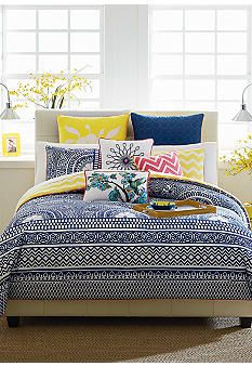 CYNTHIA Cynthia Rowley Lattice Bedding Collection - of course it's my favorite, it's the most expensive