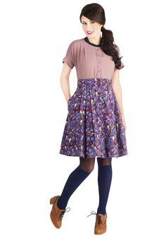 Cheerful Chirp Skirt