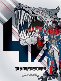 Transformers 4: Age of Extinction by Linda Hordijk