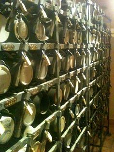 Hofbrauhaus beer stein lockers.