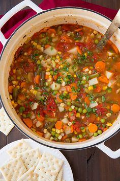 Vegetable Soup - Cooking Classy