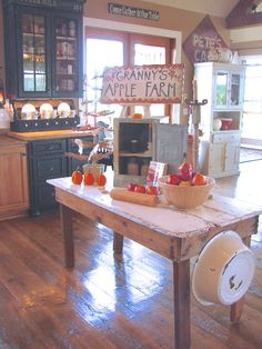 This Missouri farmhouse has its own pie baking center for cooking delicious fall desserts.