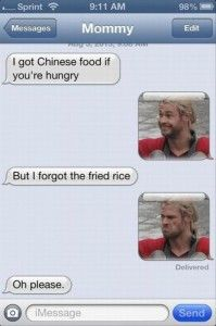 Dump A Day thor funny texts - Dump A Day