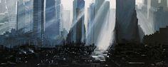 """""""NEW YORK 15"""" By Socrates Rizquez 2015 - Enamels on melamine painting. Pintado con esmaltes sobre melamina. www.socrates-art.es"""