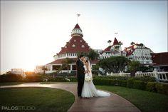 Hotel Del Coronado wedding photo