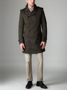SPURR Twill Army Overcoat