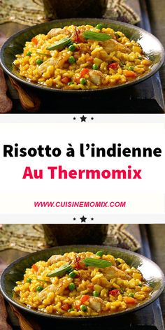 Indian Risotto with Thermomix Crockpot Recipes For Two, Chicken Recipes, Healthy Breakfast Recipes, Healthy Recipes, Mexican Dessert Recipes, Batch Cooking, Food Trends, Food Inspiration, Easy Meals