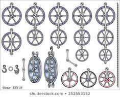 Stockfoto- och bildsamling från Fouad A. Royalty Free Images, Royalty Free Stock Photos, Mechanical Power, Engineering Tools, Illustrations, Pulley, Portfolio, Metal Working, Projects To Try