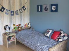 inrichting slaapkamer landelijke stijl grijs blauw - Google zoeken