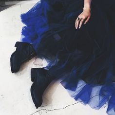you don't need high heels to be a Princess. | Blue