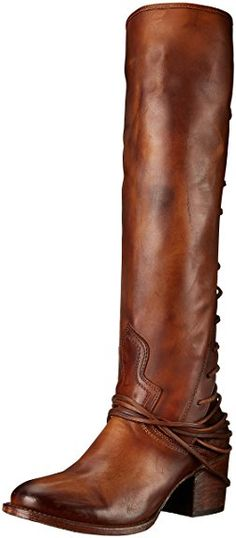 Amazon.com | Freebird Women's Coal Riding Boot | Knee-High