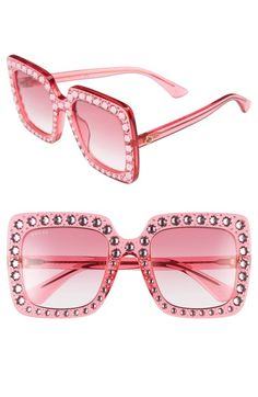 9febb00393f Gucci Gucci Crystal Embellished Square Sunglasses available at