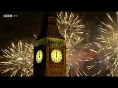 London Fireworks on New Year's Day 2013 HD - New Year Live - 31st December   1st January   BBC One