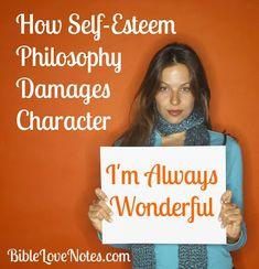 Biblical Self-esteem