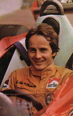 Gilles Villeneuve in the Ferrari 312T2