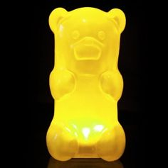 GummyGoods Nightlights- many colors- my kids would LOVE this.
