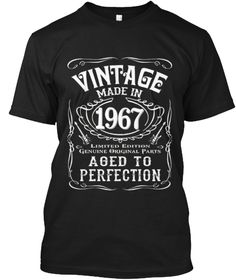 Vintage Made In 1967 Birthday Gift Idea Sister BirthdayBoyfriend Birthday50th