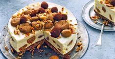Hét Sinterklaasrecept van dit jaar: de pepernoten-cheesecake Sweet Recipes, Cake Recipes, Dessert Recipes, Delicious Desserts, Yummy Food, Cheesecake Desserts, Sweet Cakes, Snacks, Let Them Eat Cake