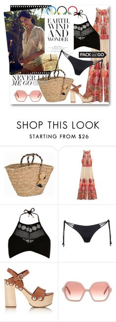 """""""#Pack & Go RIO II"""" by nikkisg ❤ liked on Polyvore featuring NLY Accessories, Chanel, Calypso St. Barth, River Island, Agent Provocateur, Prada, rio and Packandgo"""