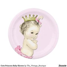 Cute Princess Baby Shower