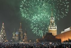 New Year's in Russia