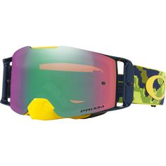 f2a21ad88a3 Oakley Front Line MX Thermo Camo Green Prizm Goggles at MXstore