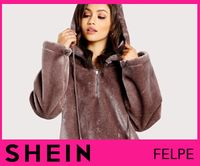 SHEIN is one of the leading online stores boasting high quality clothes and other fashionable accessories since carry a wide array of the hottest styles of tops, bottoms, dresses, jewelry, and accessories. Latest Fashion Trends, Fashion News, Fashion Outfits, Womens Fashion, Unwanted Hair, Lingerie Sleepwear, Top Sales, Fur Coat, Clothes For Women