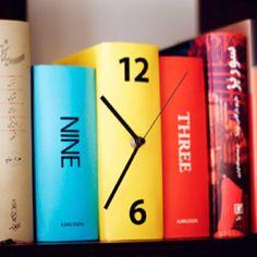 Karlsson - Book Clock