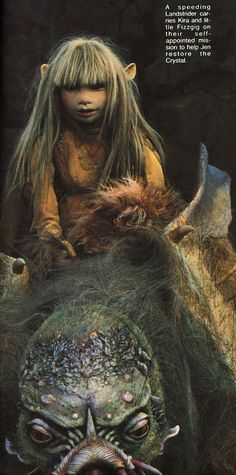 The Dark Crystal This movie scared me when i was a kid n we were at the drive-in......the gud ole days