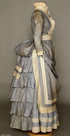 1880s Young Lady's dress