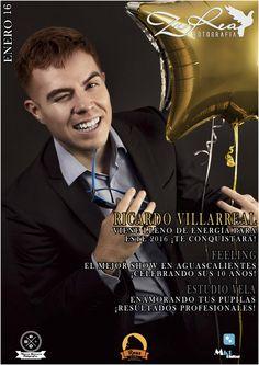 Jan 16 #3 Magazine Cover 'ZuRea Fotografía' Monthly Magazine