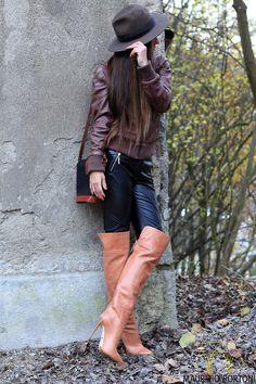 NEW!! -900€- MAURIZIO PORTONI Designer over knee thigh Boots Stiefel EU40 / UK7