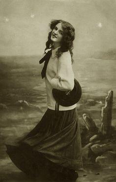 Vintage antique actress posing 003 by ~MementoMori-stock on deviantART