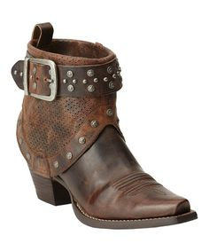 This Sassy Brown Defiance Boot - Women is perfect! #zulilyfinds