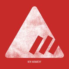 Destiny new monarchy logo in white