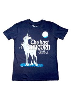 The Last Unicorn Signature Shirt : KIDS OFFICIAL TOUR MERCH: PRE-ORDER