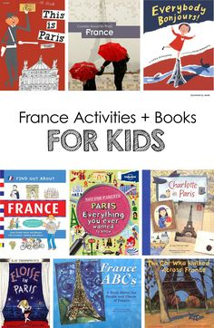 You don't need a passport to travel around the world. These France activities for children while help take your kids on a multicultural adventure!