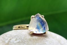 Mothers Day Sale rainbow moonstone by AnemoneUnique on Etsy