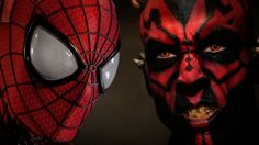 SPIDER-MAN vs DARTH MAUL - Super Power Beat Down (Episode 17) DROP EVERYTHING AND WATCH THIS RIGHT NOW