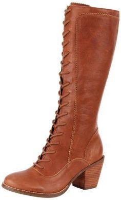 Seychelles Women's I Got Mine Knee-High Boot,Whiskey - I WANT THESE :D