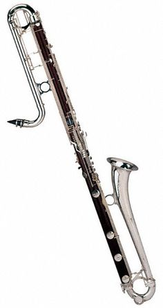 Contra-Bass Clarinet - I played it my freshman year and for a clarinet octet my senior year.