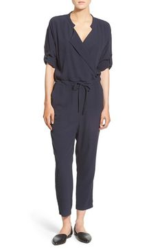 MADEWELL 'Novelist' Drawstring Jumpsuit. #madewell #cloth #