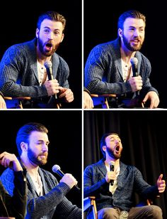 "lindseymorqan: "" Chris Evans at the Wizard World Comic Con (January 9, 2016) "" Another set from my favorite pictures ❤️"