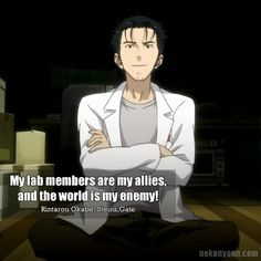 Nekonyann - Anime Quotes!: Steins;Gate #5