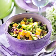 Sambal Oelek, Frisk, Fajitas, I Love Food, Fruit Salad, Guacamole, Mango, Keto, Cooking