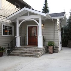 1000 images about front porch curb appeal on pinterest for Front door stoop ideas