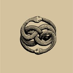 "The AURYN sign, as imagined by Michael Ende in his book ""The Neverending Story"""
