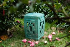 The charm of the ceramics in the garden. #details #garden #yard #decor #casadevalentina
